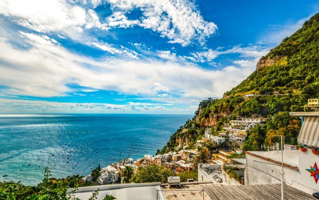 italiaanse kust varen